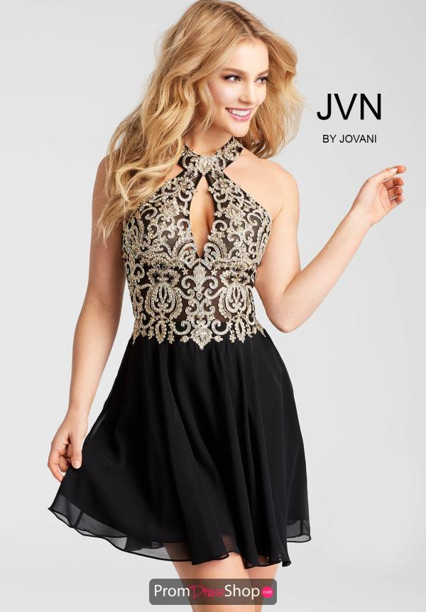 JVN by Jovani A Line Dress JVN53177