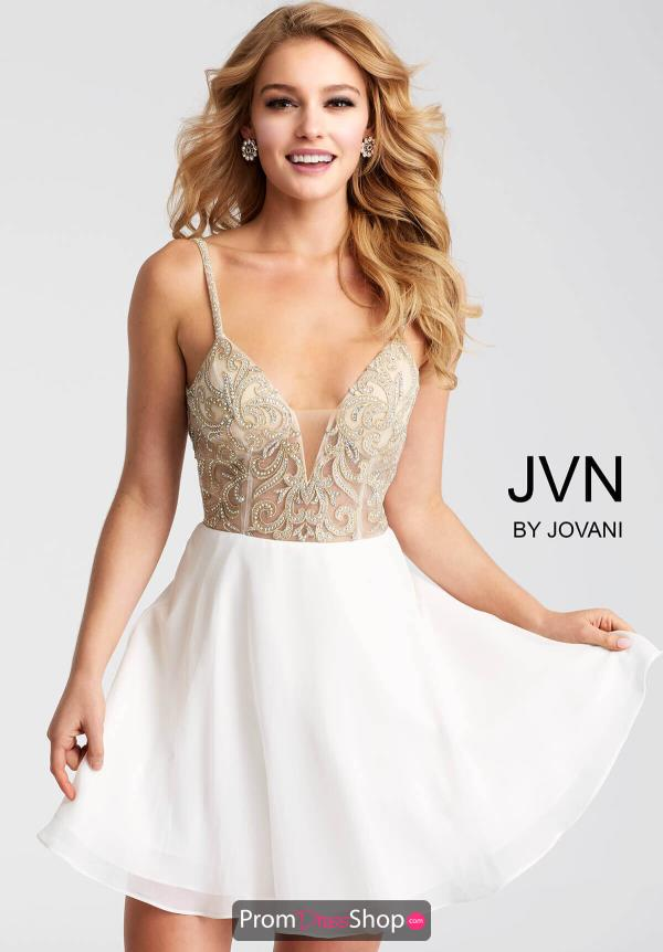 JVN by Jovani A Line Dress JVN53178