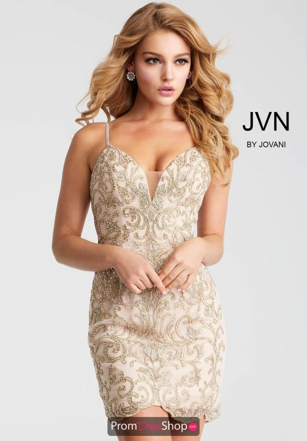 JVN by Jovani Fitted Dress JVN53184