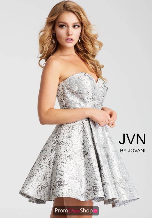JVN by Jovani A Line Dress JVN53203