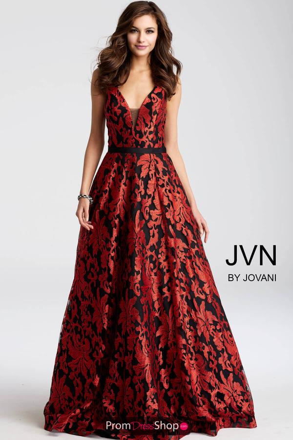JVN by Jovani Print Dress JVN53383