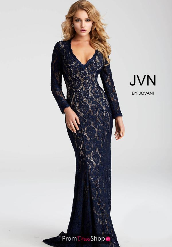 JVN by Jovani Lace Dress JVN55158