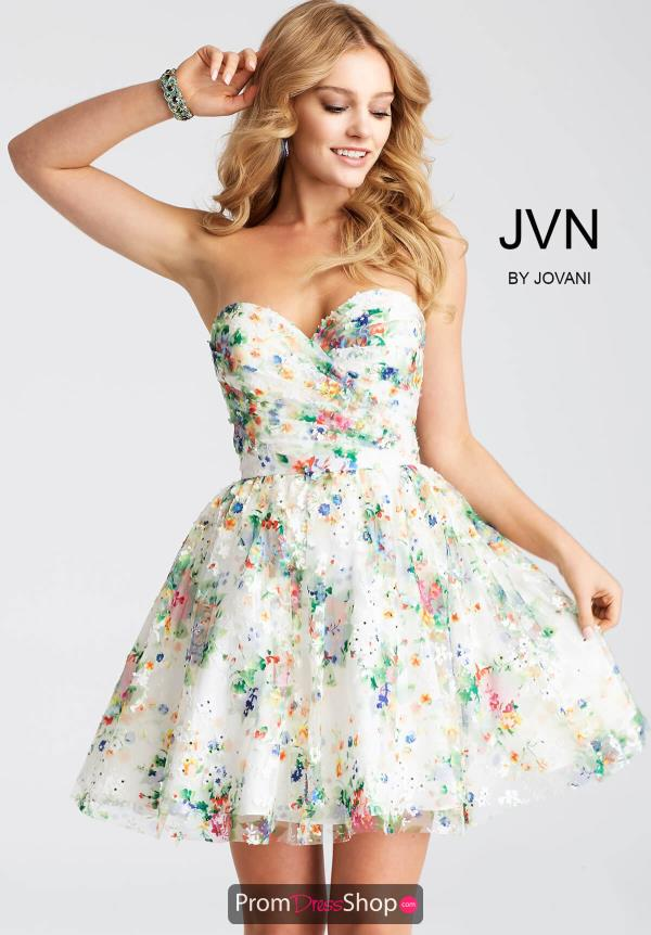 JVN by Jovani Print Dress JVN55240