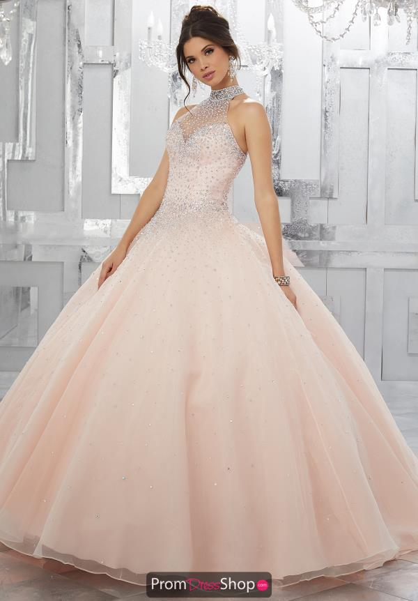 Vizcaya Quinceanera Strapless Ball Gown 60021