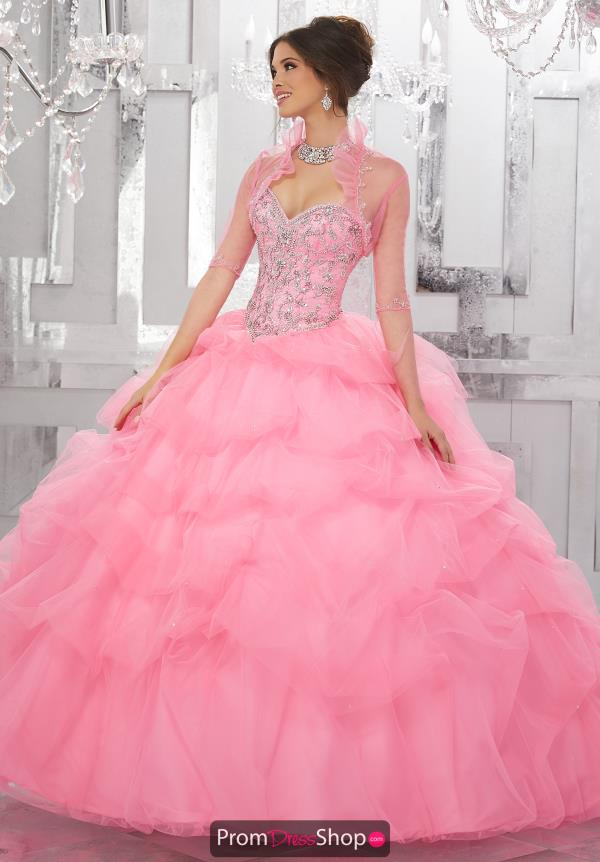 Vizcaya Quinceanera Strapless Ball Gown 60025