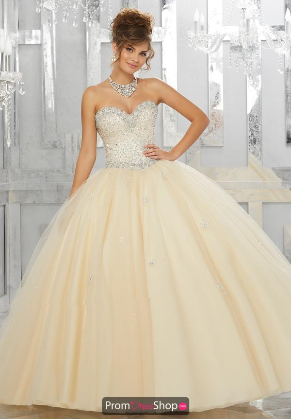 Vizcaya Quinceanera tulle Skirt Ball Gown 89143