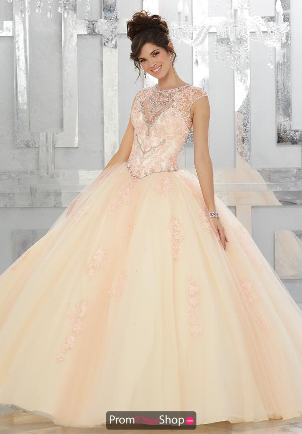 Vizcaya Quinceanera Corset Dress 89147