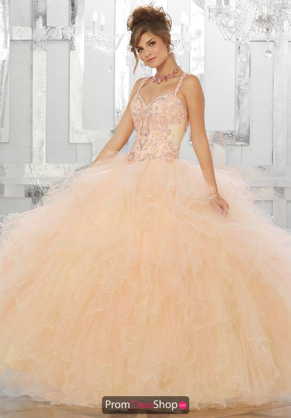 Vizcaya Quinceanera Lace Back Ball Gown 89156