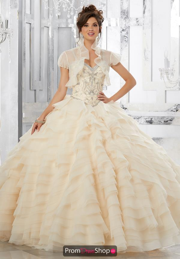 Vizcaya Quinceanera Beaded Ball Gown 89158