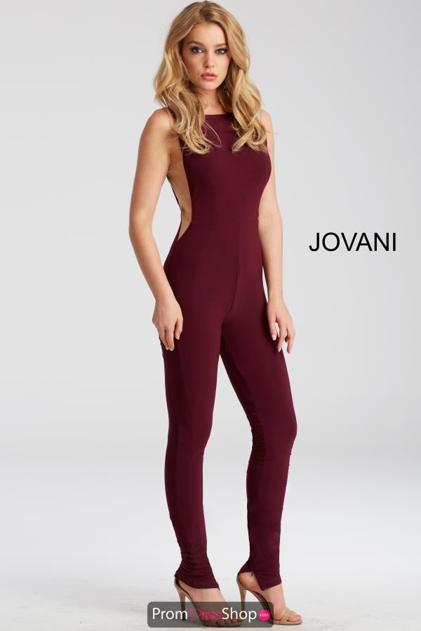 Jovani Jersey Jumpsuit Dress 50905