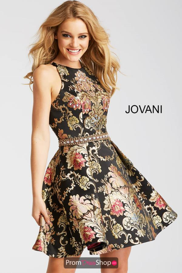 Jovani Cocktail A Line Dress 51513