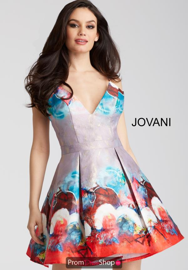 Jovani Cocktail A Line Dress 51793