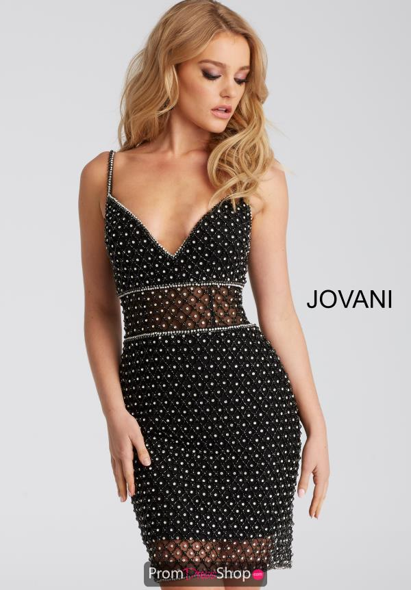 Jovani Cocktail Fitted Dress 52188