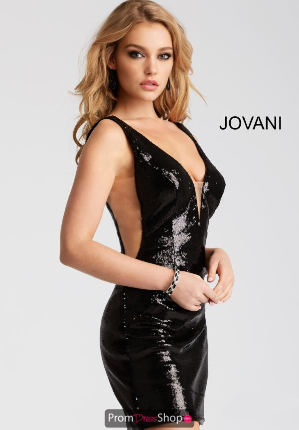 Jovani Cocktail Fitted Dress 52266