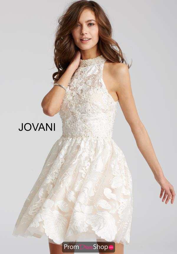 Jovani Cocktail Lace Dress 53048