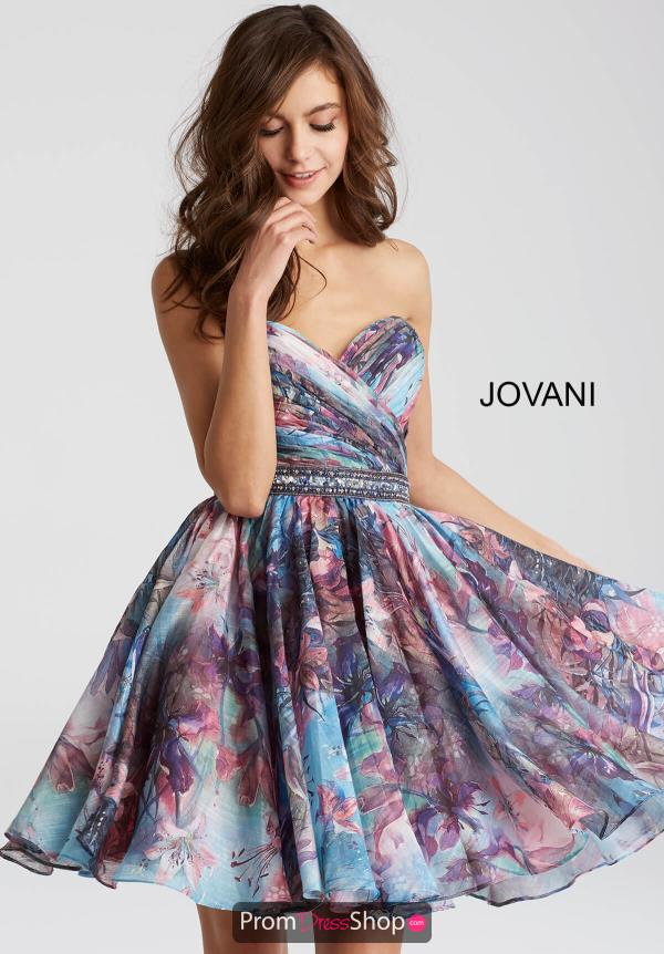 Jovani Cocktail A Line Dress 53093