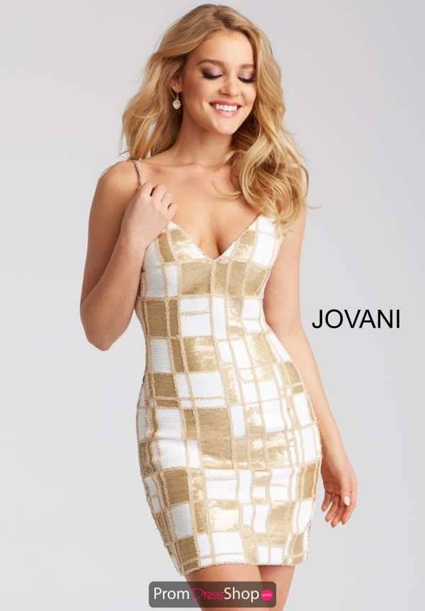Jovani Cocktail Fitted Dress 53105