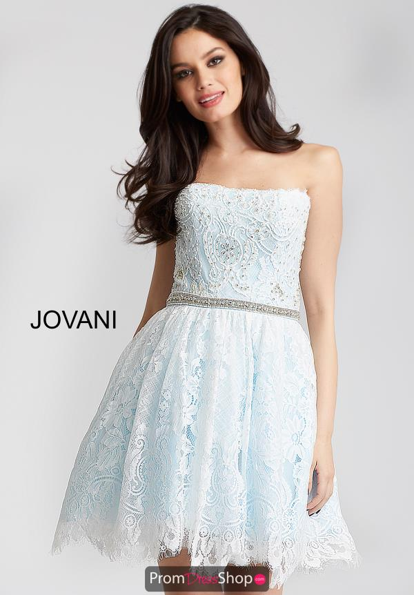 Jovani Cocktail A Line Dress 54588