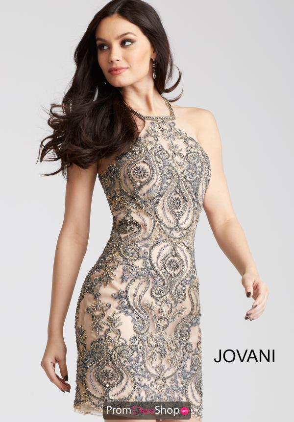 Jovani Cocktail Fitted Dress 54592