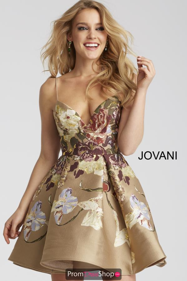 Jovani Cocktail A Line Dress 54992