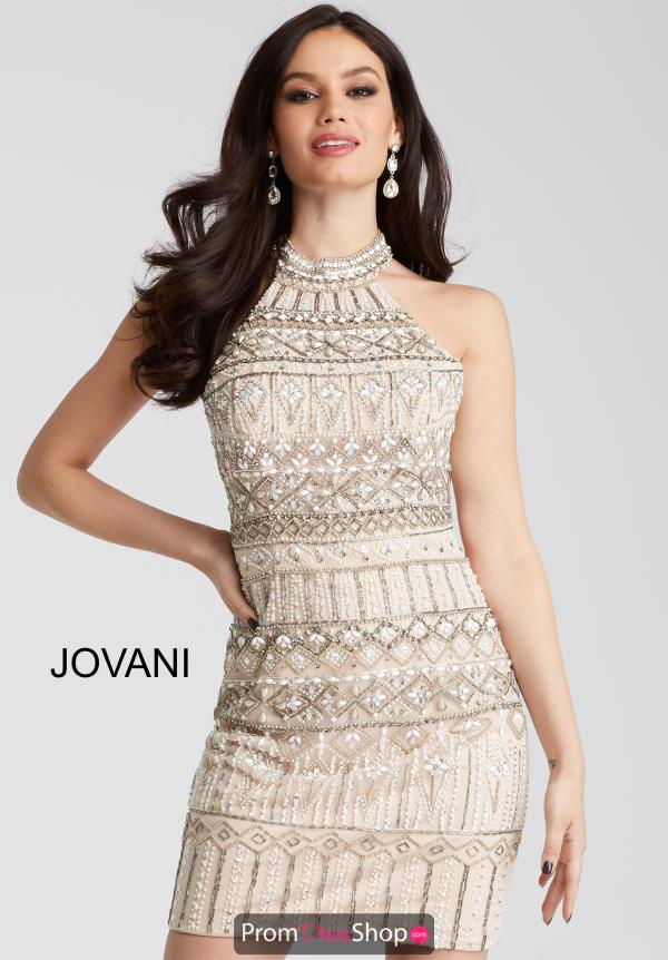 Jovani Cocktail Fitted Dress 55233