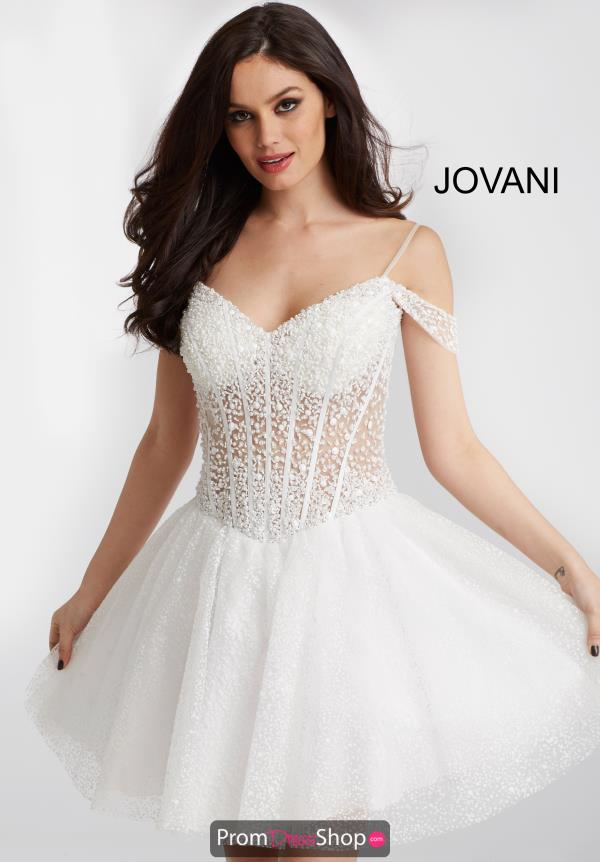 Jovani Cocktail Beaded Dress 55249