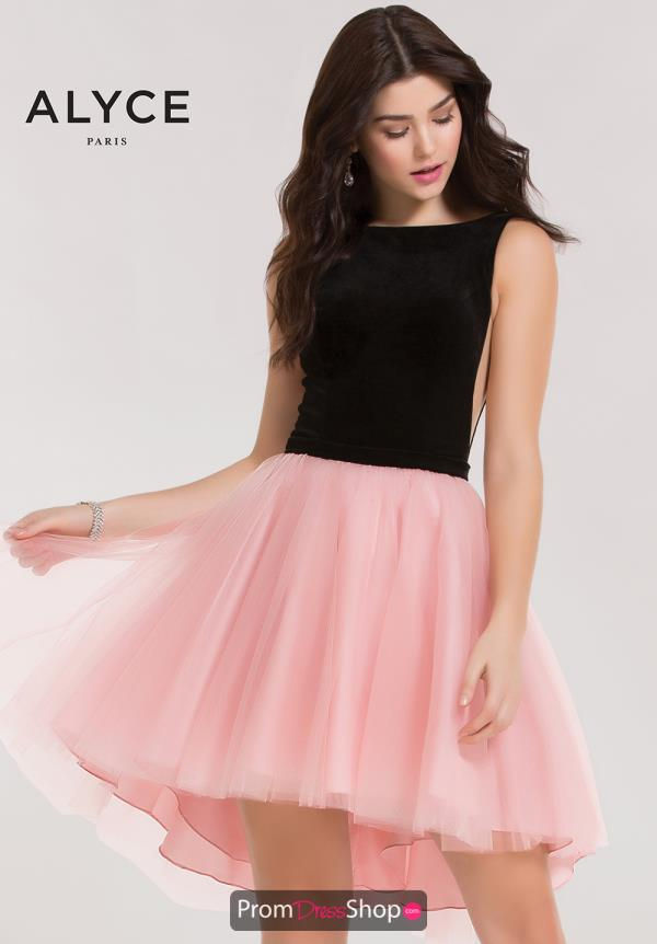 Alyce Short Tulle A Line Dress 2640