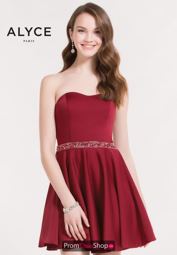 Alyce Short Red Dress 3723