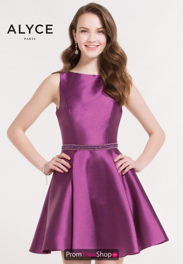 Alyce Short Fit and Flare Dress 3729