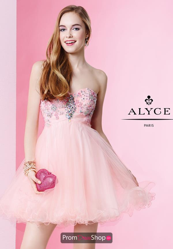 Alyce Short Dress 1052 at Prom Dress Shop