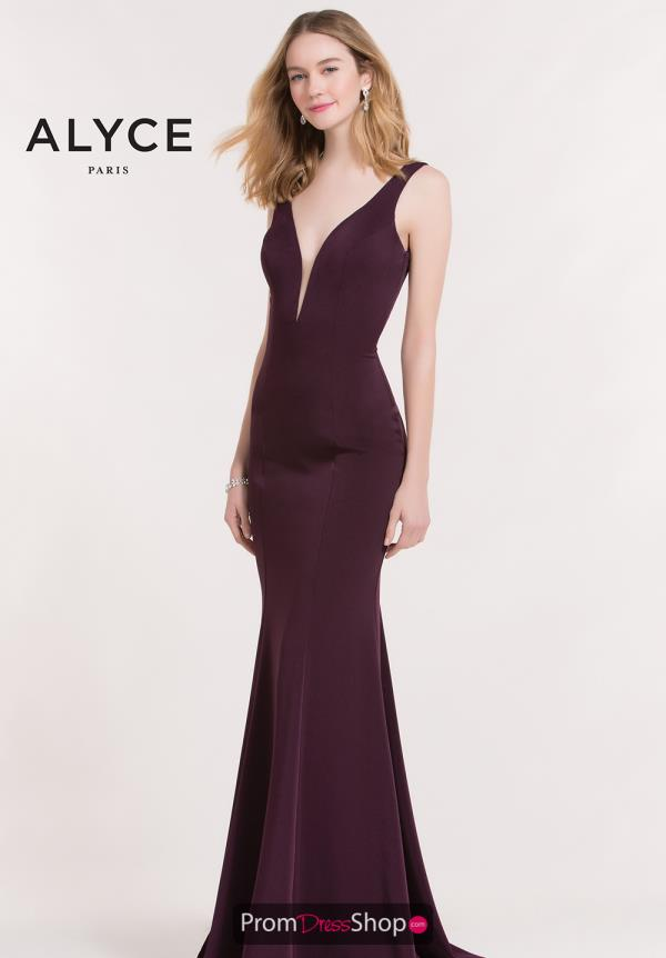 Alyce Paris Fitted Long Dress 8051