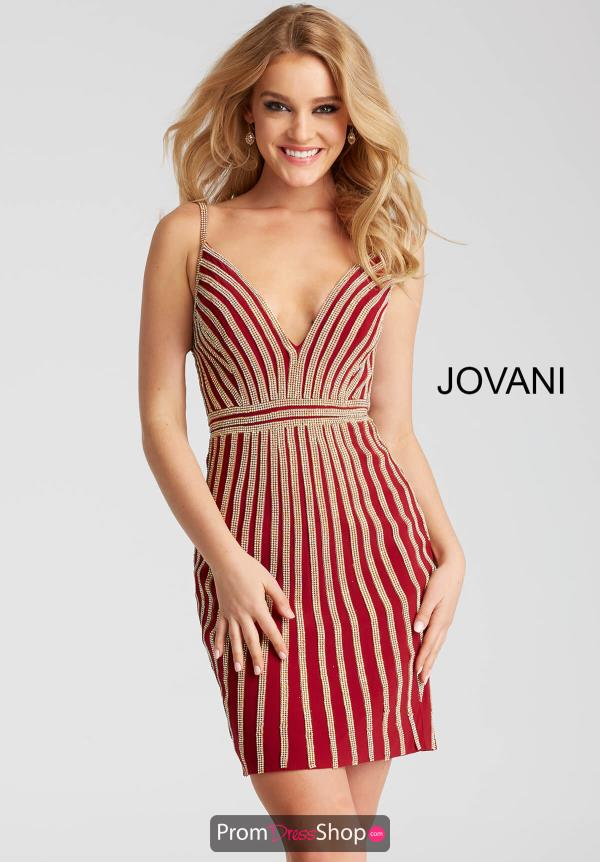 Jovani Cocktail Fitted Dress 55640