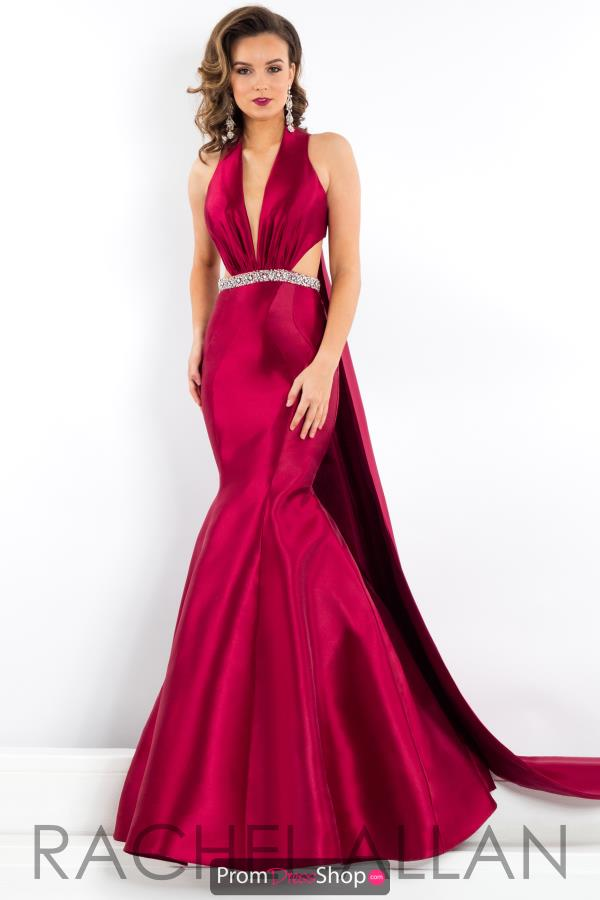 Prima Donna Pageant V- Neckline Fitted Dress 5951