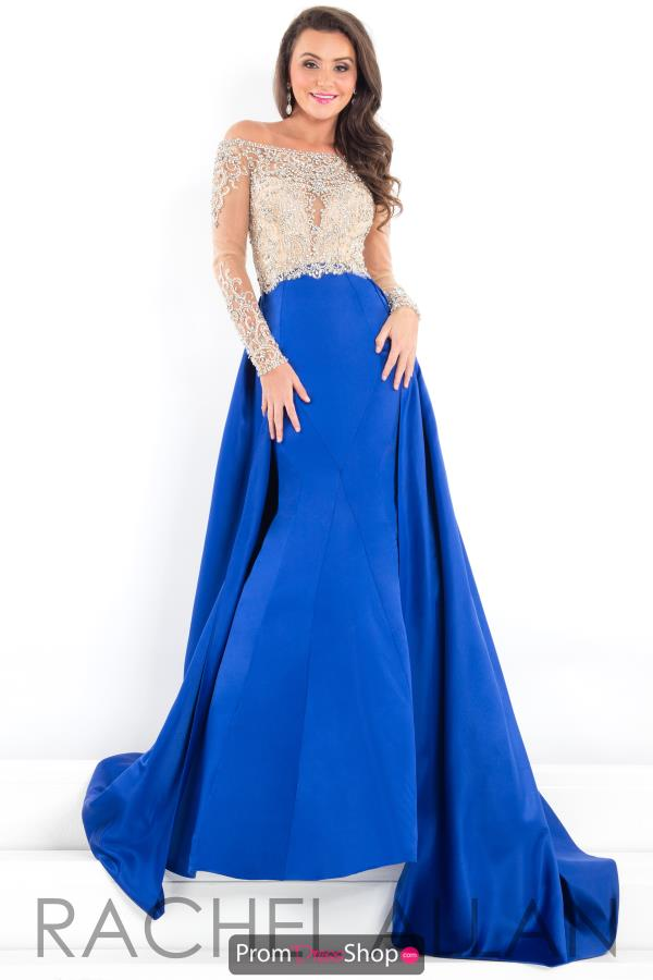 Prima Donna Pageant Long Fitted Dress 5953