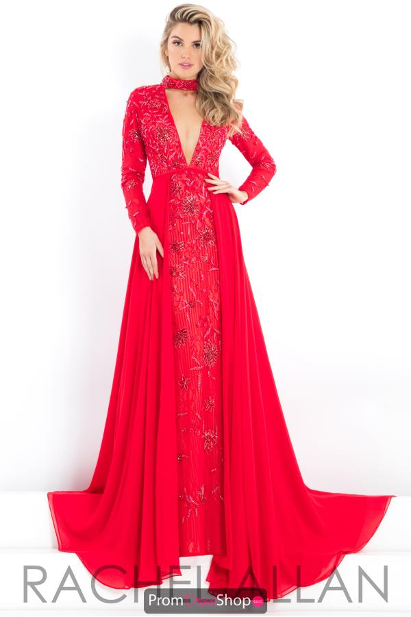Prima Donna Pageant Long Fitted Dress 5986