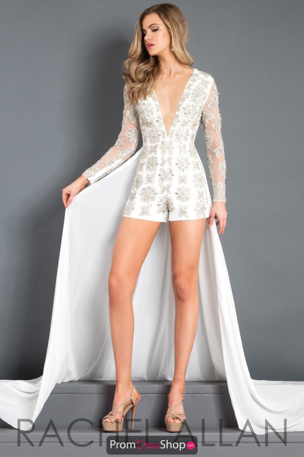 Prima Donna Pageant Beaded Romper 5992