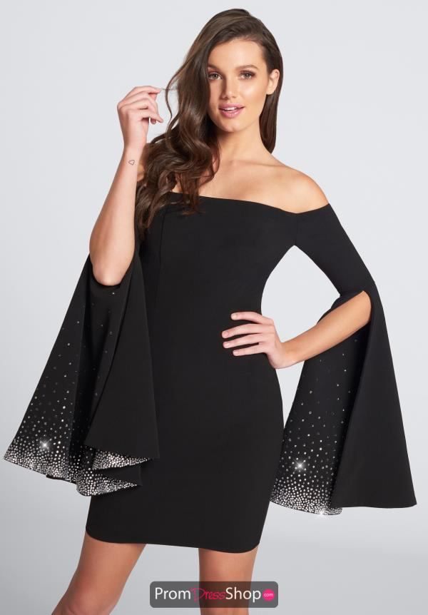 Ellie Wilde Prom Long Sleeve Dress EW21729S