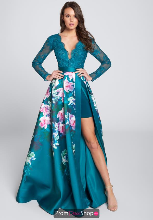Ellie Wilde Prom A Line Dress EW21747