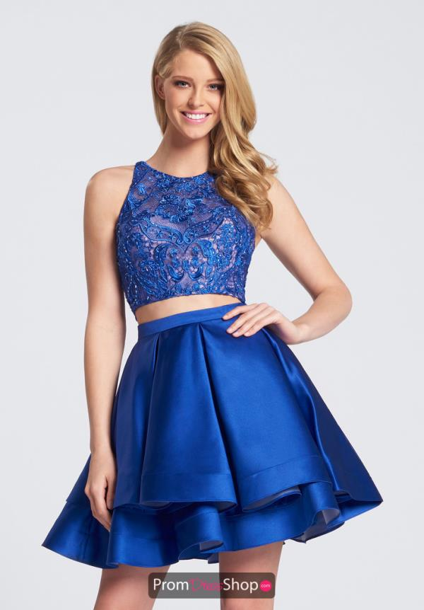 Ellie Wilde Prom Beaded A Line Dress EW21752S