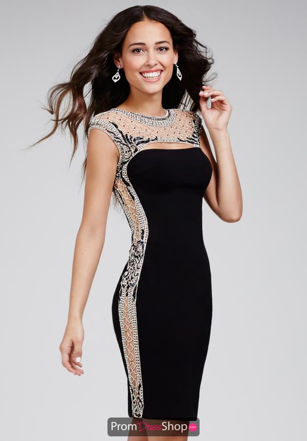 Jovani Cocktail Short Holiday Dress 27049