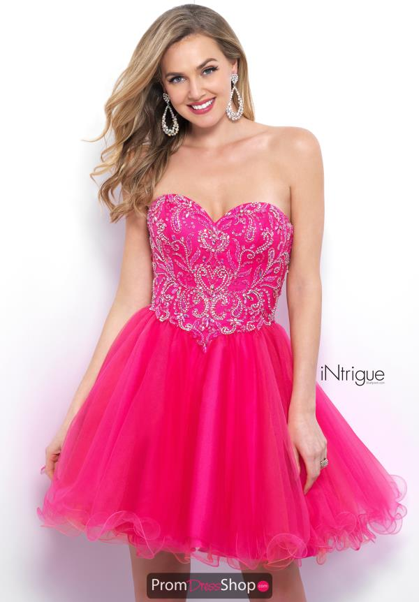 Intrigue by Blush Short Beaded Dress 362
