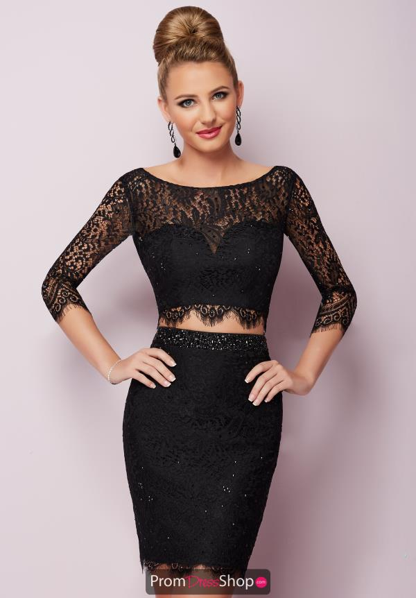 Hannah S Fitted Lace Dress 27140
