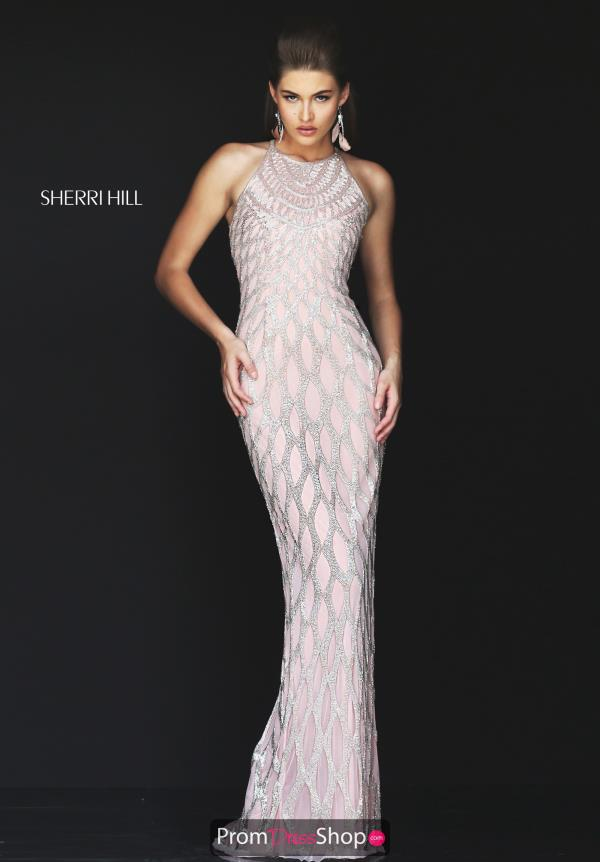 Sherri Hill Fitted Long Dress 50380