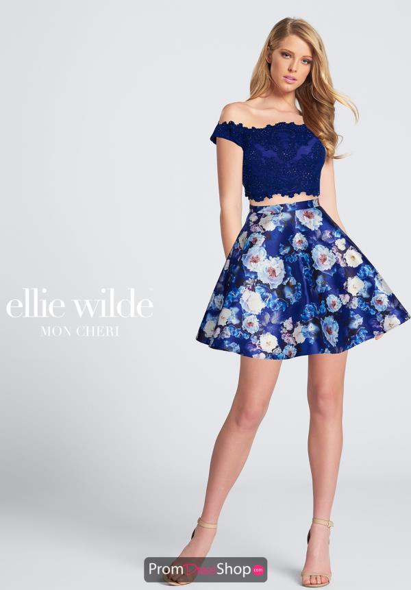 Ellie Wilde Off the Shoulder Dress EW21771S