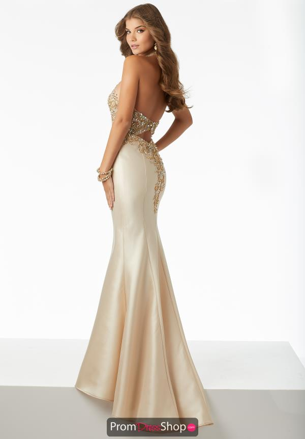 Mori Lee Fitted Long Dress 42025