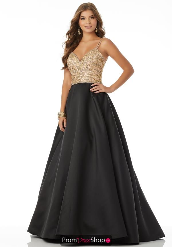 Mori Lee Long A Line Dress 42039