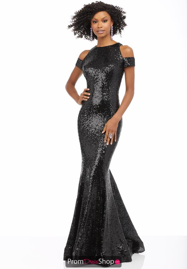 Mori Lee SequinS Fitted Dress 42073