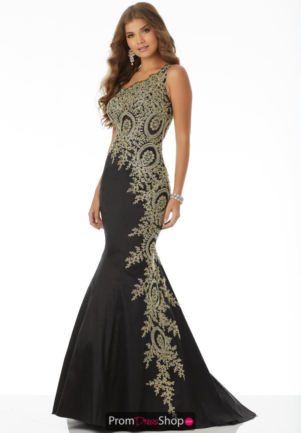 Mori Lee Fitted Jersey Dress 42094