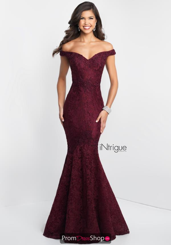 Intrigue by Blush Lace Mermaid Dress 425