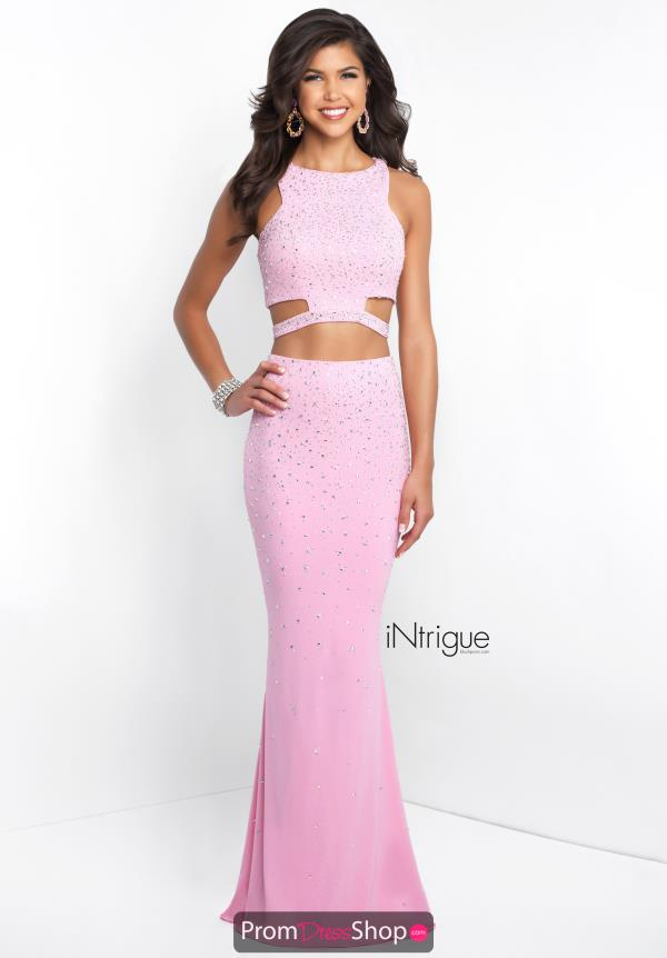 Intrigue by Blush Fitted Pink Dress 430